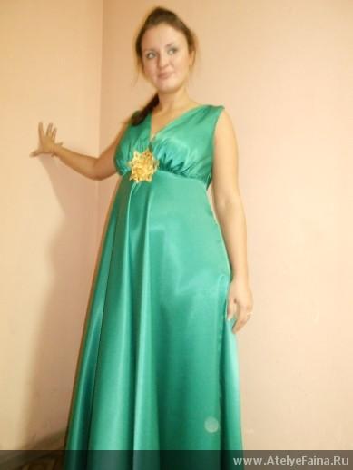 пошив платья для беременных
